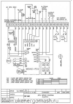 Рисунок 7 схема подключения.